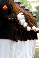 101423 Marine Honor Guard