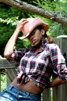 100149 A Cowgirl