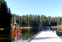 100329 Boat Dock On Clear Lake Oregon