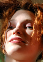 100104 Portrait of Red Head Woman