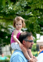 100306 Little Girl Riding On Her Dad's Shoulders