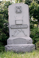 100254 Civil War Monument In Honor Of 28th New York