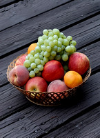 100307 Basket Of Fruit