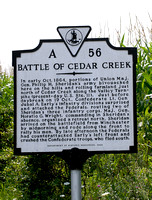 100253 Civil War Battle Of Cedar Creek