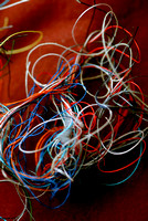 100208 Swirls Of Colored Thread